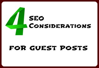 SEO Considerations for Guest Posts