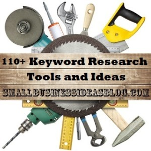 70+ Keyword Research Tools & Ideas by @sbizideasblog