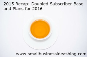 2015 Review - Small Business Ideas Blog
