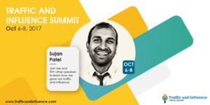 Sujan Patel Twitter Summit Promo