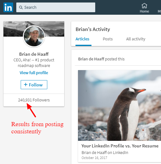 Brian de Haaff - LinkedIn