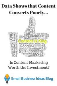 Content Converts Poorly